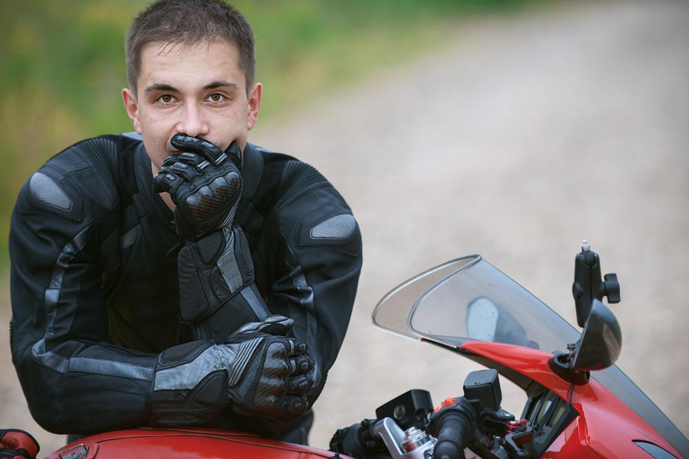 colete para motociclistas