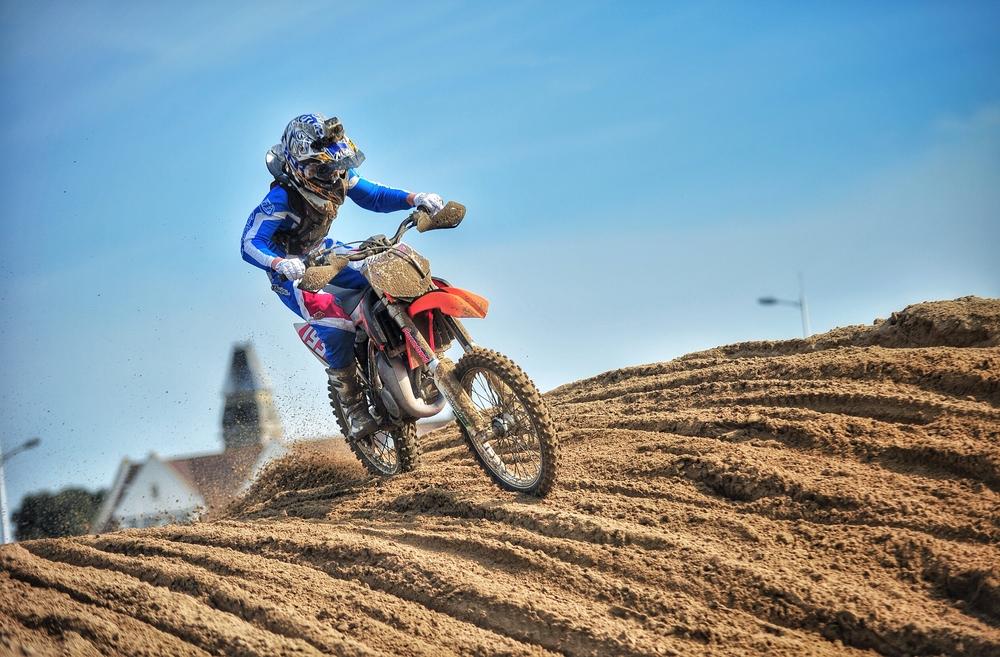 trilhas de motocross