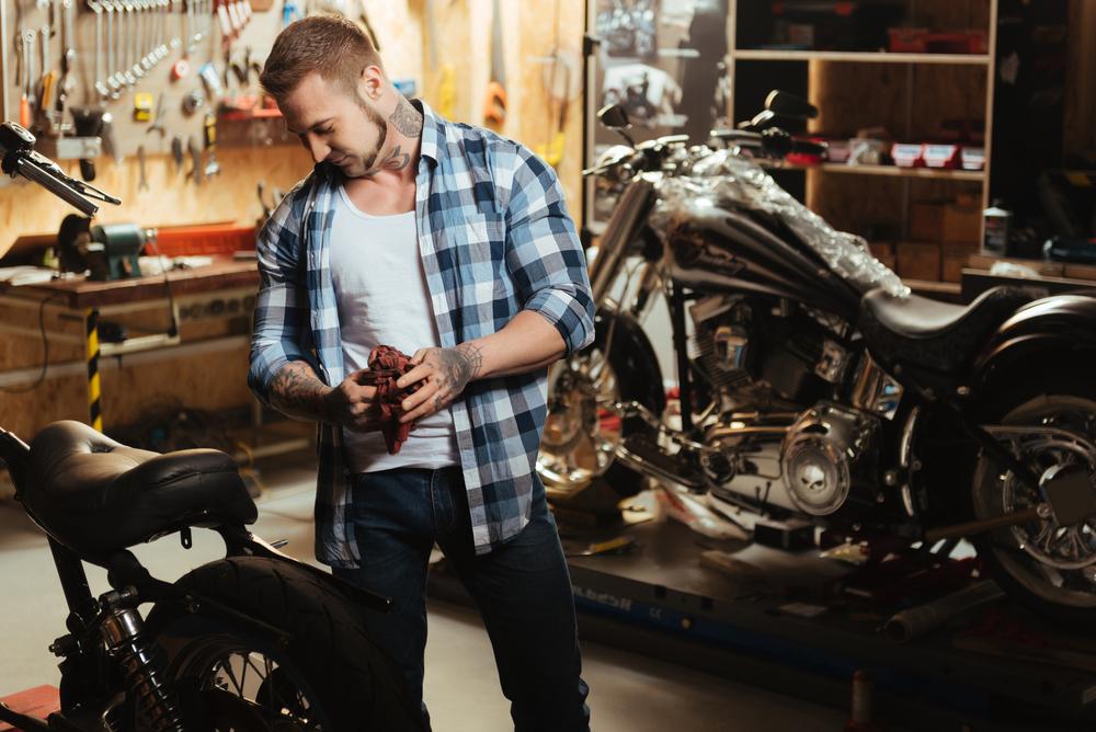 paixões de motociclista